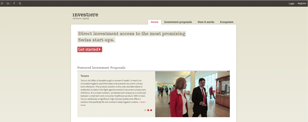 Investiere: a promising platform for start-ups